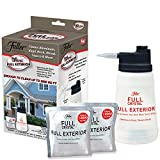 Full Exterior Kit - Bottle, Lid with Hose Attachment and Two 4 oz. Crystal Powder Outdoor Cleaner (Cleans Up to 4,000 Sq. Ft): Non-Toxic, No Scrub, No Rinse Cleaning Kit