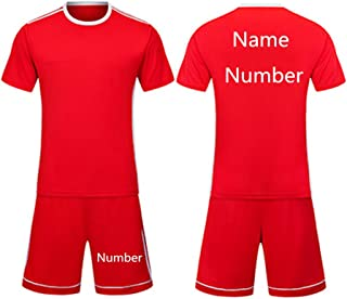 Football Jersey for Men Custom Your Name and Number Football Training Jersey Football Uniform Soccer Jerseys for Kids