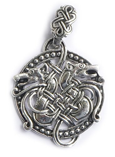 Anhänger Midgard Schlange keltischer Knoten - 925 Sterling Silber - Yoga Esoterik Spiritualität Astrologie Energie Schutz