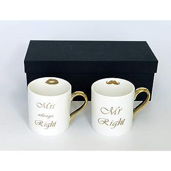 Clapoyis マグカップ コーヒーカップ ペア おもしろ 結婚祝い カップル おしゃれ 北欧 ギフト箱入り 2客 ホワイト 磁器 ボーンチャイナ メンズ レディ C001