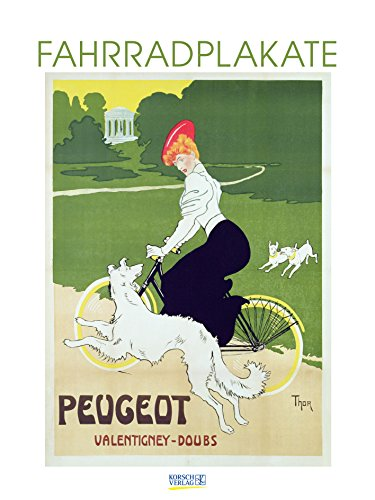 Fahrradplakate 200719 2019: Großer Kunstkalender. Wandkalender mit vintage Plakaten im Kunst Gallery Format: 48 x 64 cm +Foliendeckblatt
