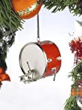 Broadway Gifts Red Bass Drum Tree Ornament,2.25 inch