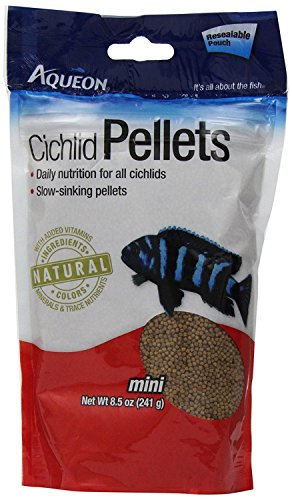 Aqueon Cichlid Fish Food Pellets