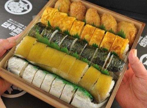 徐福寿司の5色寿司セット