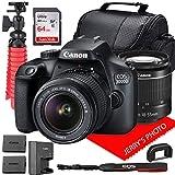 Canon EOS 3000D (Rebel T100) DSLR Camera w/Canon...