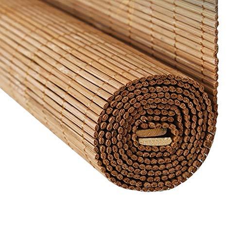 Estor enrollable YXX Toldos Exteriores for Puertas de Patio al Aire Libre, persianas enrollables de bambú Impermeables Cortar la privacidad con Cenefa Plana (Size : 160cmx240cm)