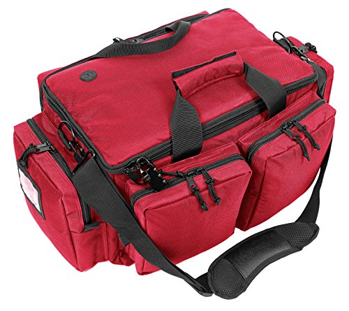 ahg Anschütz Range Bag 60x27x37cm, 299-R Pistolentasche, Einsatztasche, Rot, XL
