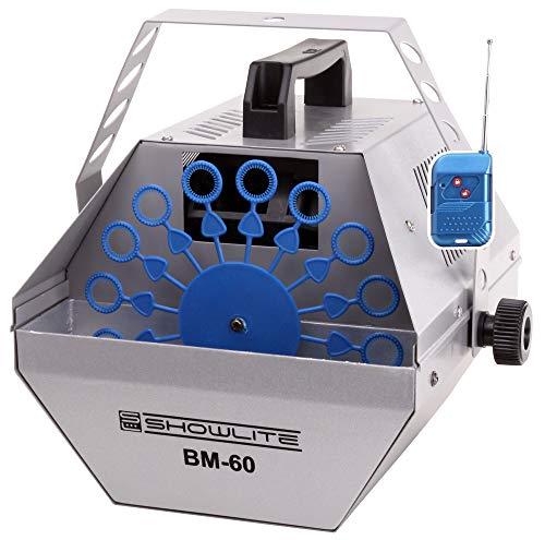 Showlite BM-60 maquina de pompas con...