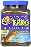 Zoo Med Aquatic Frog and Tadpole Food, 12 Ounces,...