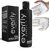EVERFLY Magnesio Líquido Crossfit - 250ml - Gripping Gel - Escalada Calistenia Halterofilia Tenis Padel Gym Pole Dance - Liquid Chalk para Manos - Extra Agarre Grip - Dry Hands