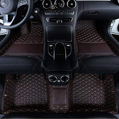 Yting Non-Slip Mats Automotive Boot Pads Custom Logo Car Floor Mat Waterproof Dust-proof Cargo Liners For Citroen C4 Grand Picasso C1 C5 Aircross Ds5 C2 C6 C-Elysee C-Triomphe 8.26 (Color : Red)