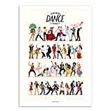 Wall Editions Art-Poster - Everybody Dance Now - Nour Tohme