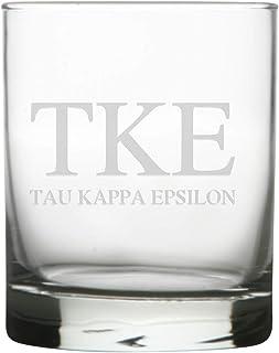Sorority and Fraternity 12 Ounce Glass (Tau Kappa Epsilon)
