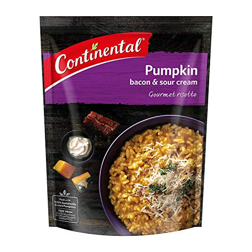 CONTINENTAL Gourmet Risotto (Side Dish)  Pumpkin with Bacon & Sour Cream, 115g