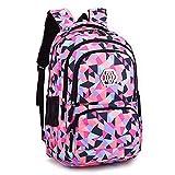 housse protection offerte backpack sac à dos scolaire enfant grande volume fille garcon cartable à dos ecole cartable loisir voyage cartable primaire secondaire 48 * 33 * 24cm