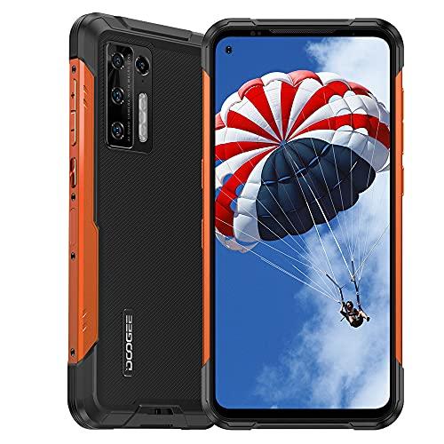 DOOGEE S97 Pro Robustes Smartphone Entsperrt Android 11 MTK G95 Octa-Core 8GB + 128GB Handy, 48MP Fünf Kameras + 40m Laser-Entfernungsmesser, 6,4