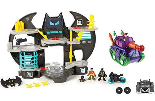 Fisher Price Imaginext DC Super Friends Batcave Set by Fisher-Price