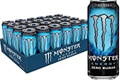 ZERO SUGAR: The Zero Sugar and Low-Calorie version of Original Monster Energy. People have been blowin' up our inbox for years asking for a low-calorie Monster. We got it, but this ain't soda pop, dude. Making a low-calorie, zero sugar drink that's g...