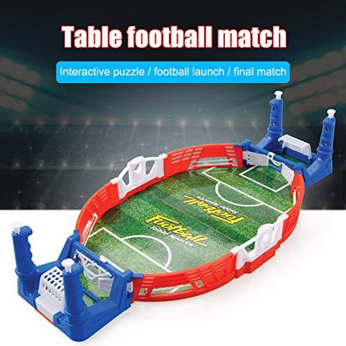 Dušial Mini Table Soccer Top Football Game Set Desktop Soccer Indoor for Kids Party Adult