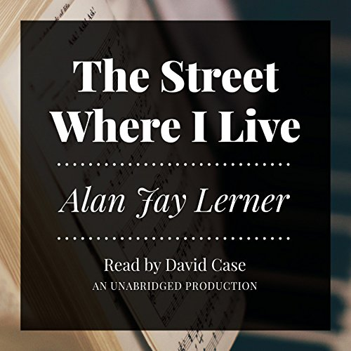 The Street Where I Live audiobook cover art