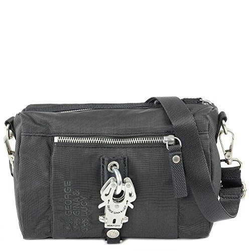 George Gina & Lucy Basic Nylon The Drops Bolsas de hombro gris oscuro