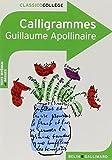 Calligrammes. Poemes De La Paix Et De La Guerre by Guillaume Apollinaire (2008-08-19) - Editions Belin; edition (2008-08-19) - 19/08/2008