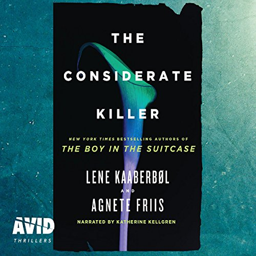 The Considerate Killer audiobook cover art