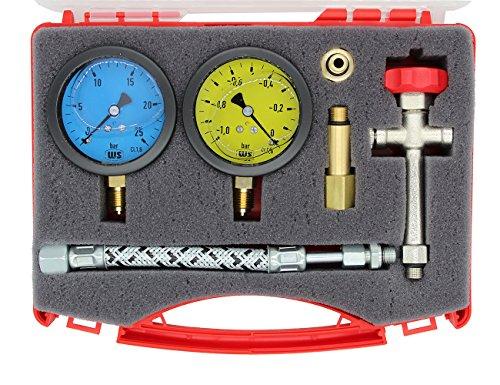 WS-Pumpenprüfkoffer P 1 G kompl. bestückt Glyzerinfüllung