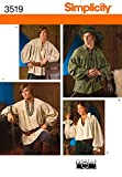 Simplicity 3519 Medieval Sewing Pattern for...
