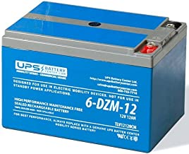 6-DZM-12 12V 12Ah eBike/Scooter Battery - Deep Cycle Mobility Battery