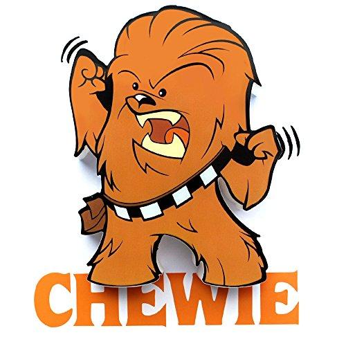 3DLightFX Star Wars Chewbacca Mini 3D Deco Light