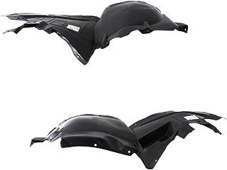 Titanium Plus Autoparts 1999-2005 Compatible With PONTIAC Grand Am Front Left /& Right Side splash guard splash shield fender liner Liner Apron