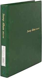 テージー スタンプアルバム デラックス B5 SB-306-03 緑