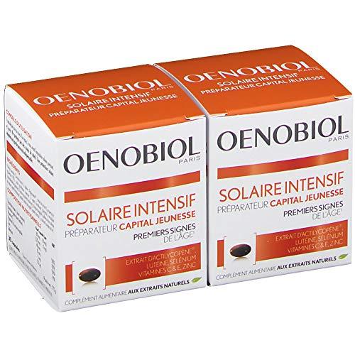 Oenobiol Solaire Intensif Anti-Age Lot de 2 x 30 Capsules