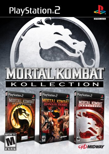 Mortal Kombat Kollection (Deception, Armageddon, Shaolin Monks) - PlayStation 2 by Midway