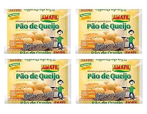 Cheese Bread Mix Amafil - 17.6 oz