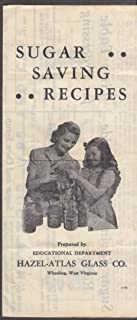 Hazel-Atlas Glass Jar Sugar Saving Recipes folder Wheeling WV 1946