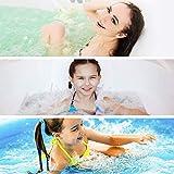 medisana MBH Luftsprudelbad, Whirlpoolmatte mit Aromaspender, 3 Intensitätsstufen, für jede Badewanne geeignet, mit Fernbedienung, für die Lockerung von verspannter Muskulatur, - 4