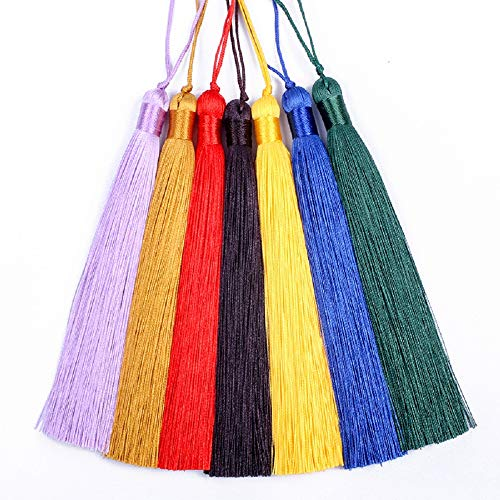 GOIN 20pcs Handmade Color Tassels, Silky Tassels Can Be Hung On Keychain Mobile Phone Straps, Jewelry, Diy And Other Decorative Accessories