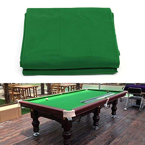 Read About Boshen Billiard Cloth Pool Table Felt with 6 Cloth Strips for 7/8/9 Foot Table Fast Pre-C...