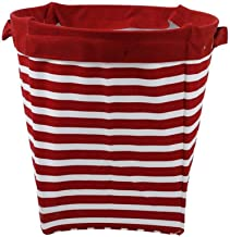 JUAN Basket Baby Storage Laundry Bucket Household Cloth Detachable Storage Sort Out Barrel Multi-color (Color : Red Stripe)