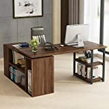 L-Shaped Computer Desk, Tribesigns Rotating...