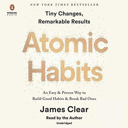 Atomic Habits Audiobook By James Clear cover art