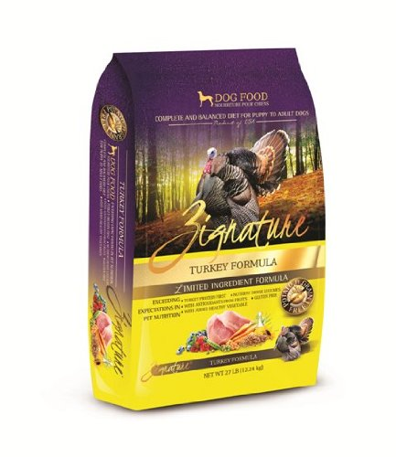 Zignature Turkey Dry Dog Food, 27-Pound