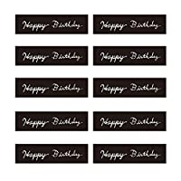 モノココロ お誕生日の贈り物にキモチを添える 通年使えるHappy Birthday シール 100枚入