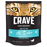 Crave Dry Cat Food - High protein & grain-free cat food with Salmon & Whitefish, 750 g (Pack of 3)