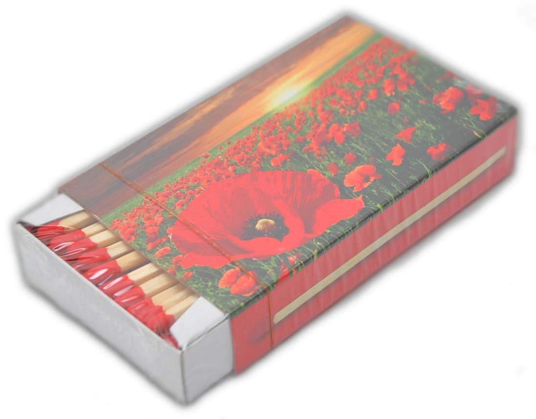 jameitop®а XL - Cajas de cerillas, diseño de Flores: 7 Paquetes de ...