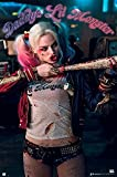 Close Up Suicide Squad Poster Harley Quinn Daddys Lil