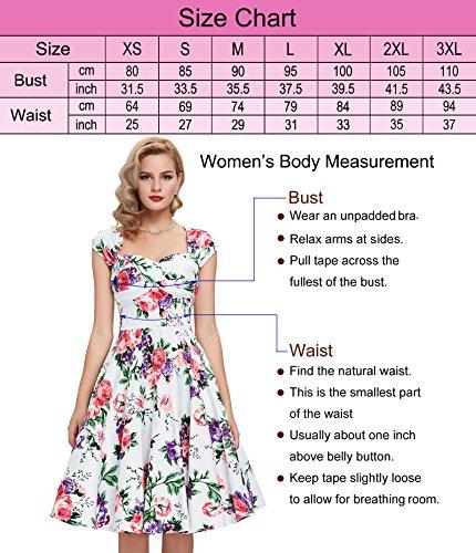 Damen Schulterfrei Treffen Kleid Neckholder Festliche Kleid L CL4599-1 - 3