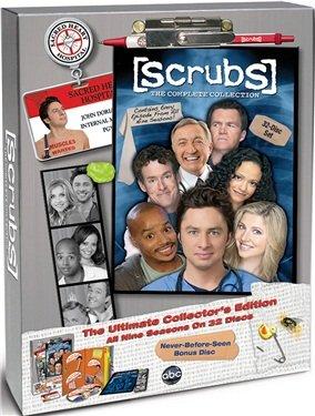 Scrubs L'intégrale Saisons 1 à 9 - Edition collector limitée - Coffret 32 DVD / Import zone 2 avec langue francaise